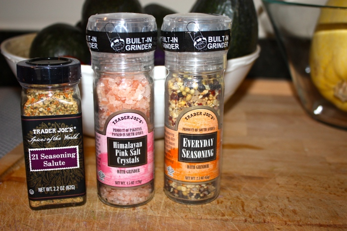 food blog  spices from TJ's