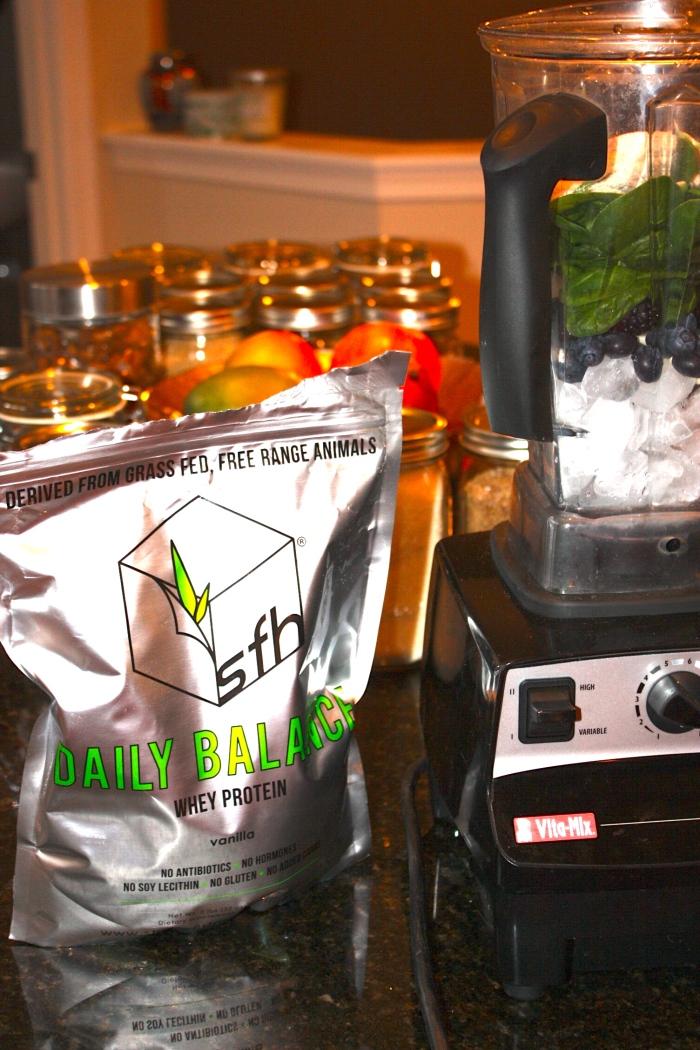 fuel sweat grow protein powder SFH