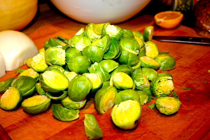 beautiful brussel sprouts.
