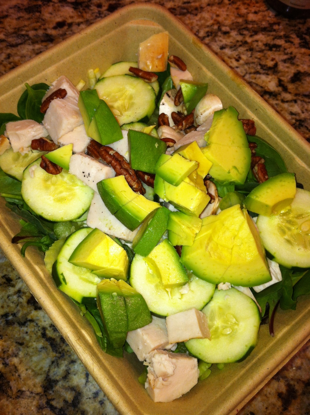 whole foods salad: fuel sweat grow