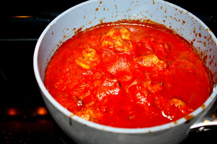 clean meatball sauce