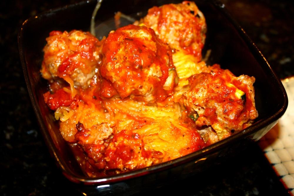 turkey meatball squash