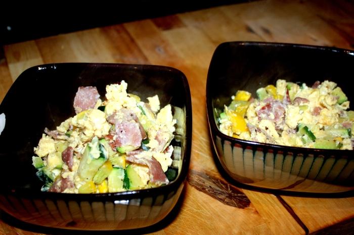 egg scramble w/ real foods