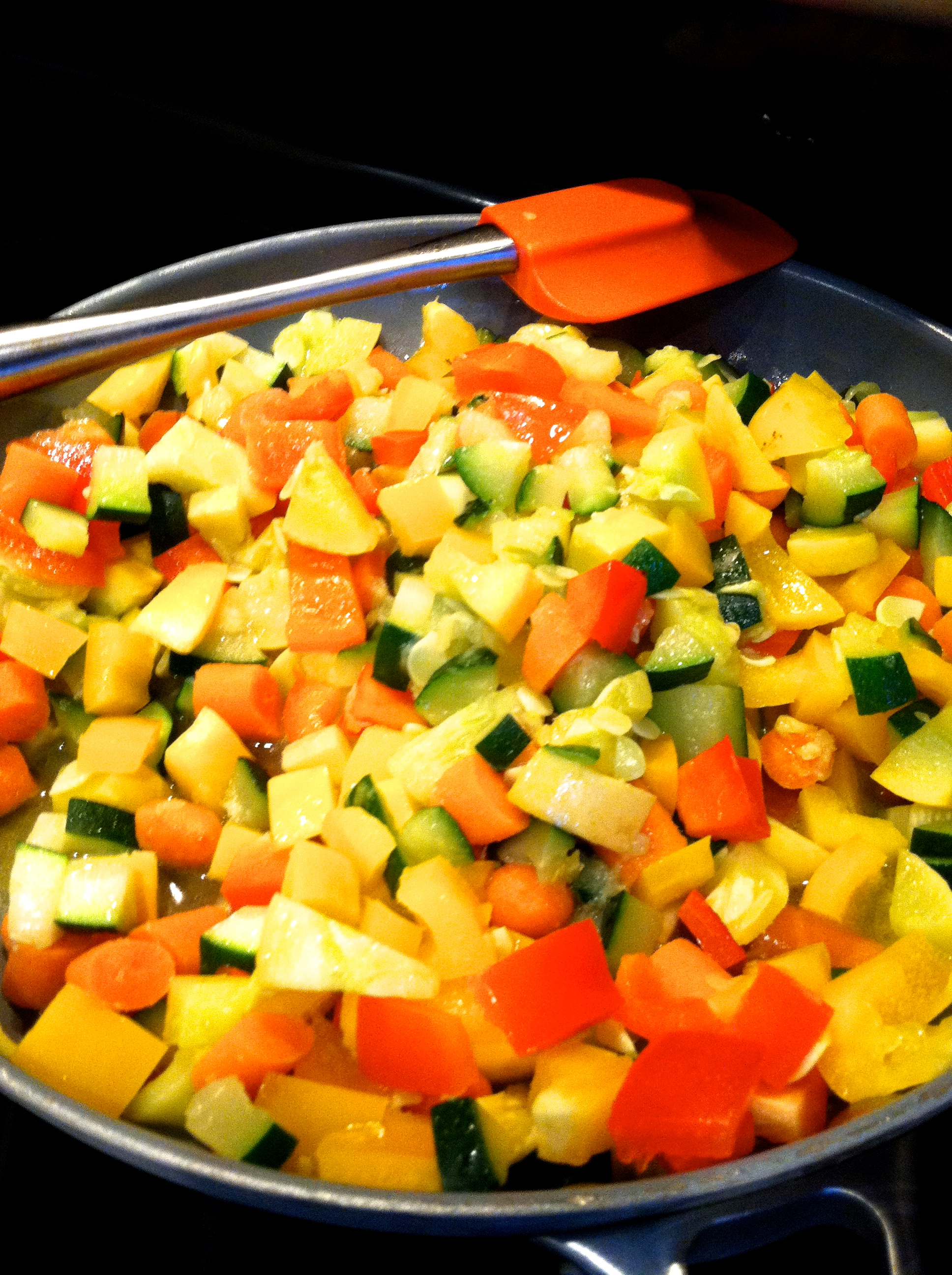 fuel sweat grow - sautéd veggies