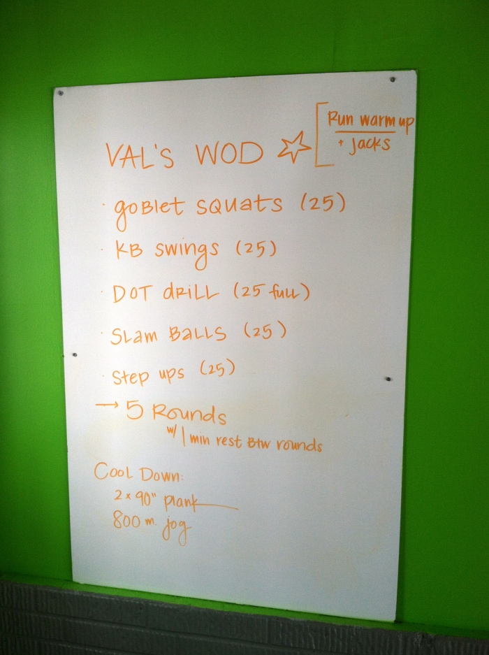 val workout