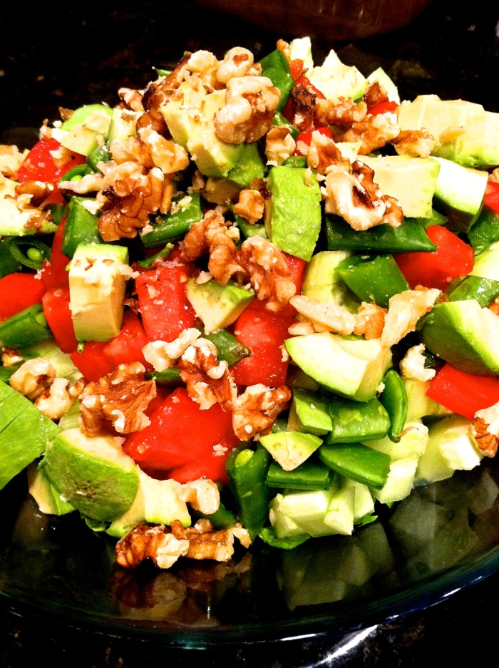fuel sweat grow: chopped salad