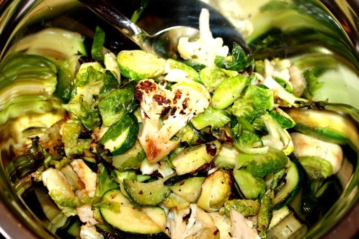 grilled veggies