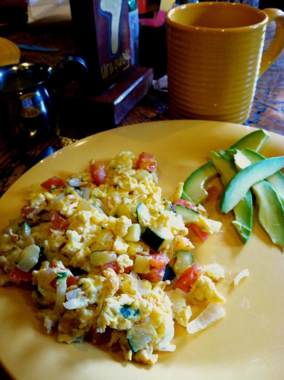 laTaza breakfast