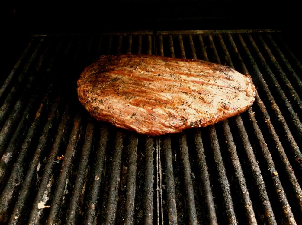 flank steak grilled