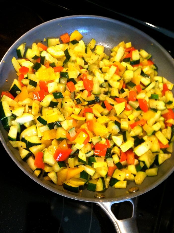 spring veggie salsa