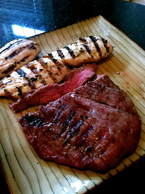 Organic Butcher flank + breasts