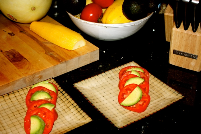 tomato avocado