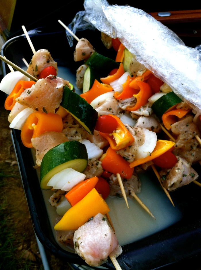 fuel sweat grow: kabobs