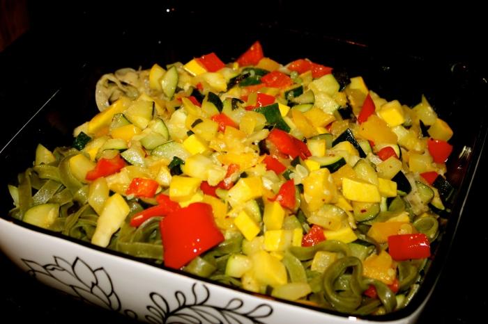 fuel sweat grow: mona lisa pasta