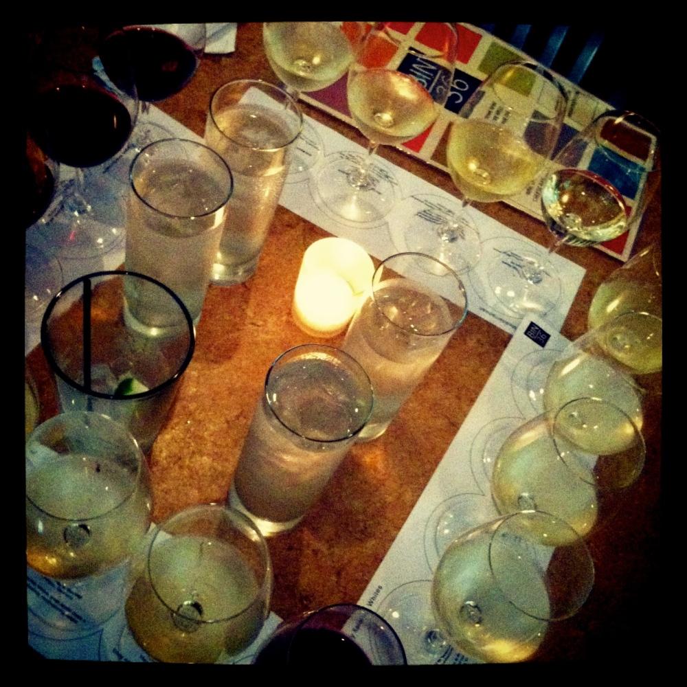 table of wine: Bin 36