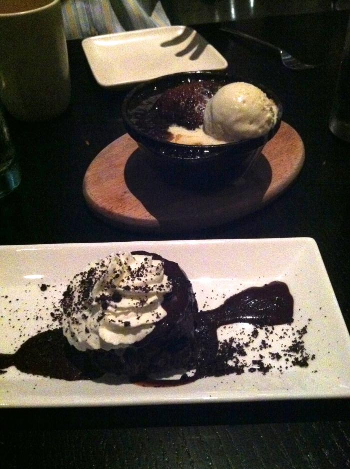 dessert at sable