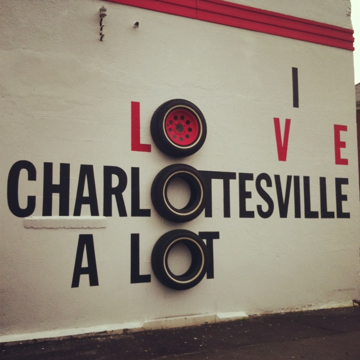 fuel sweat grow: I love Charlottesville