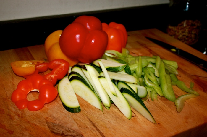 vegetables for sauteing