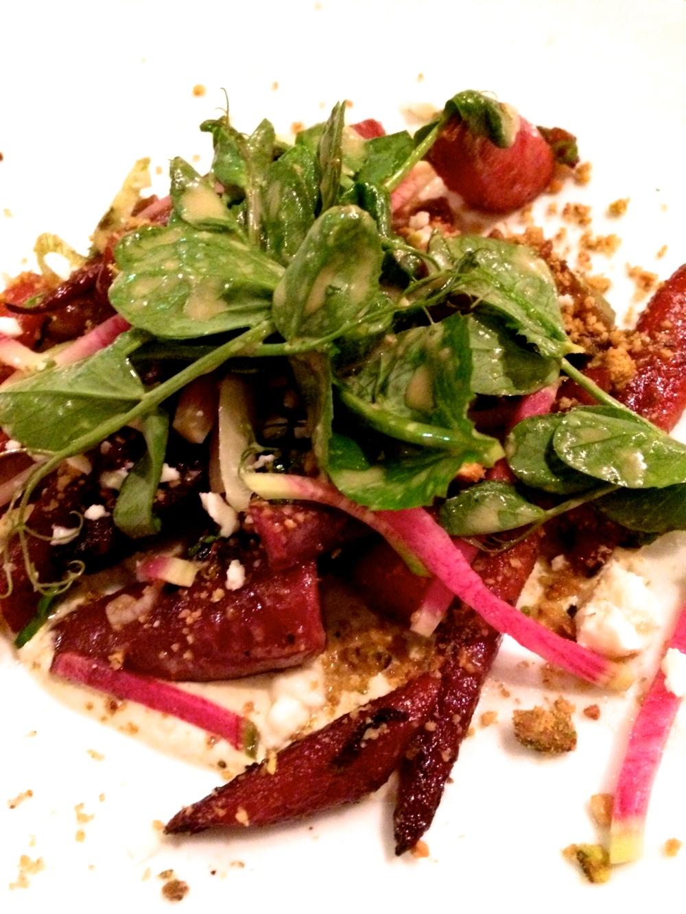 fuel sweat grow: carrot salad