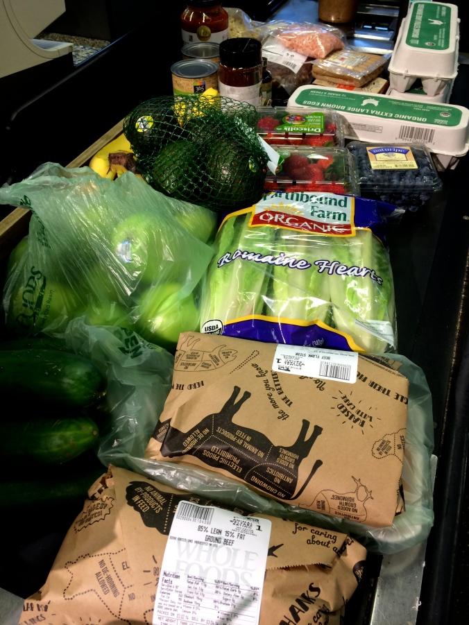 fuel sweat grow: Whole 30 Grocery list