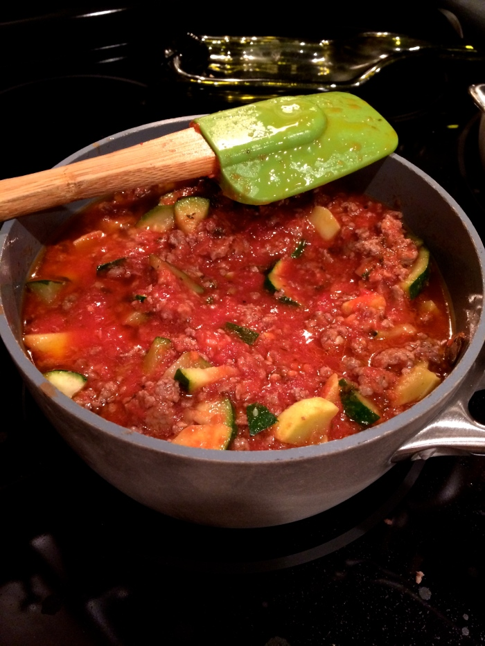 Fuel Sweat Grow: Meat Marinara
