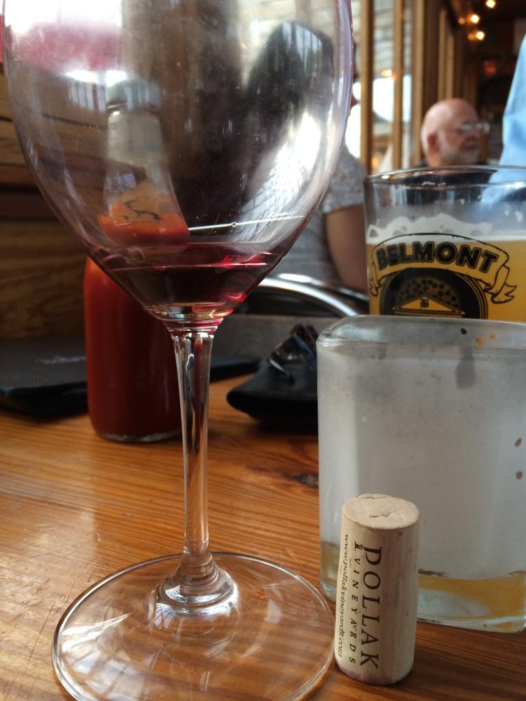 fuel sweat grow: Pollak vineyards wine