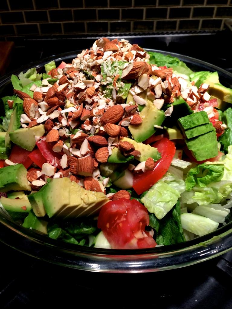 fuel sweat grow: summer salad