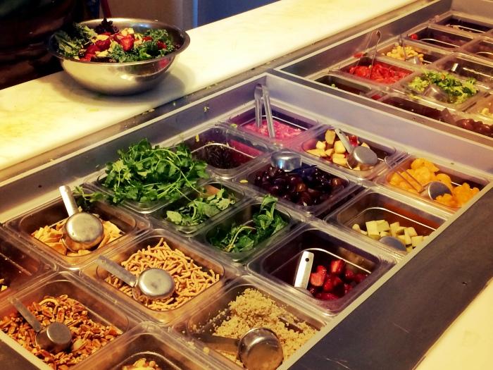 fuel sweat grow: verde chopped salad