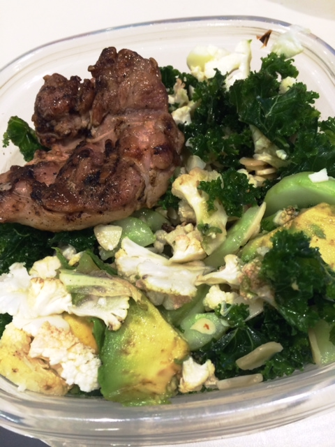 fuel sweat grow: monday leftovers lunch