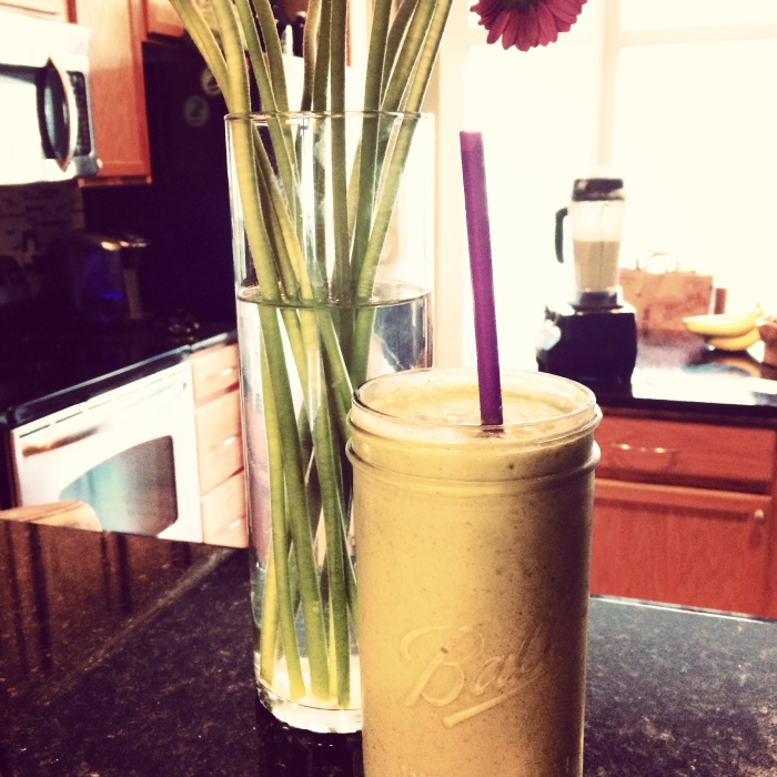 fuel sweat grow: smoothie