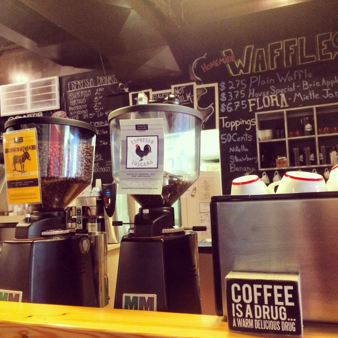 fuel sweat grow: Milli Joe Coffee
