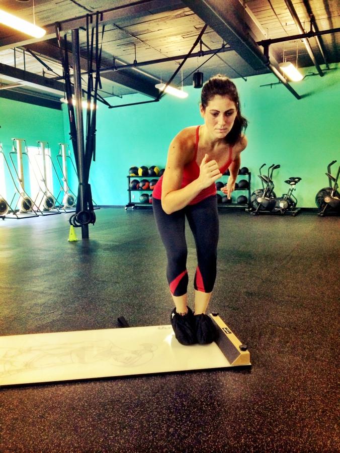 fuel sweat grow: slideboard speed skaters