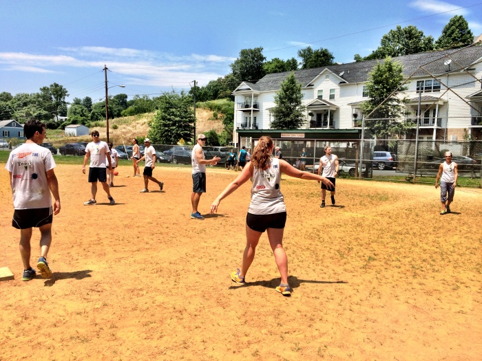 fuel sweat grow: MAD kickball