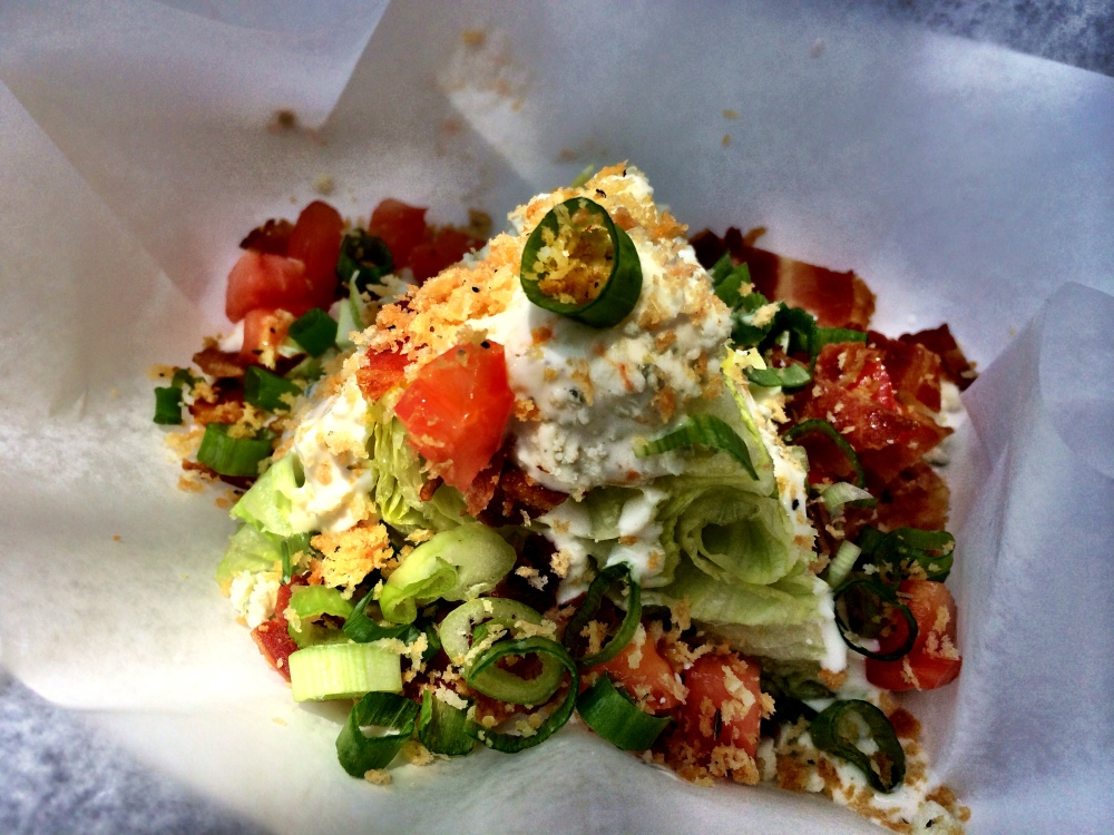 fuel sweat grow: Charleston Choo Wedge Salad