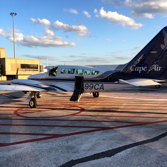 fuel sweat grow: tiny plane to Augusta, ME