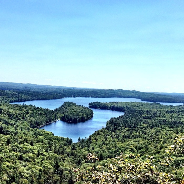 fuel sweat grow: belgrade lakes, Maine