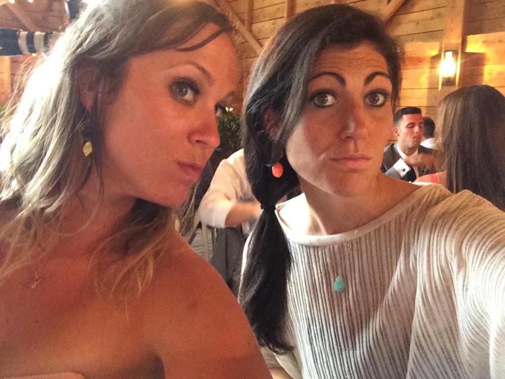 fuel sweat grow: weld wedding selfie