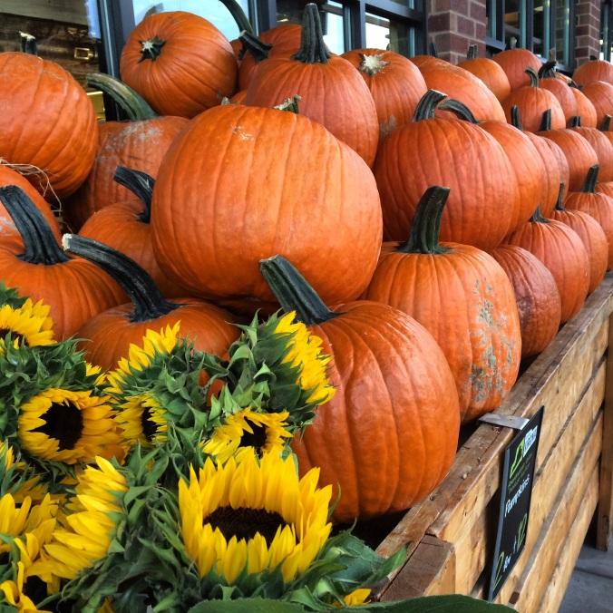 fuel sweat grow: pumpkins and fall