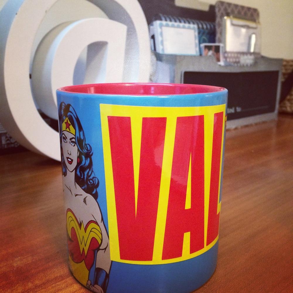 fuel sweat grow: Wonder Woman VAL