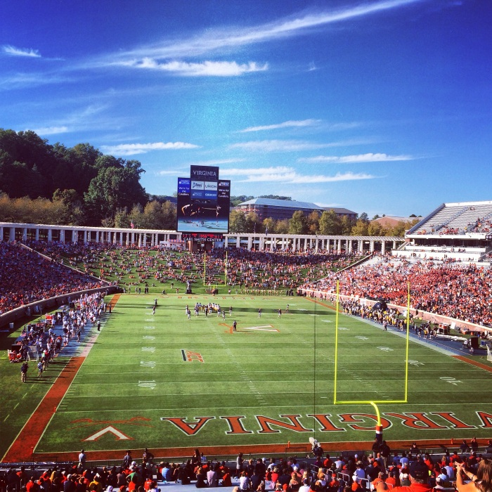 fuel sweat grow: Virginia Football ( UVA )