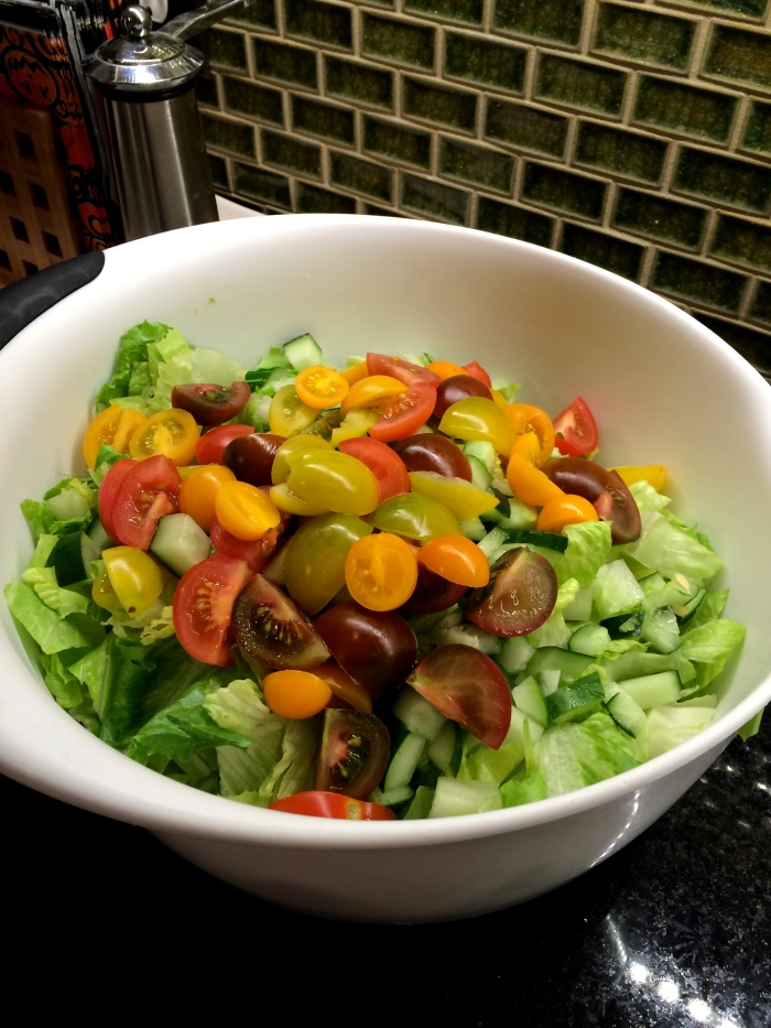 fuel sweat grow: fall summer salad