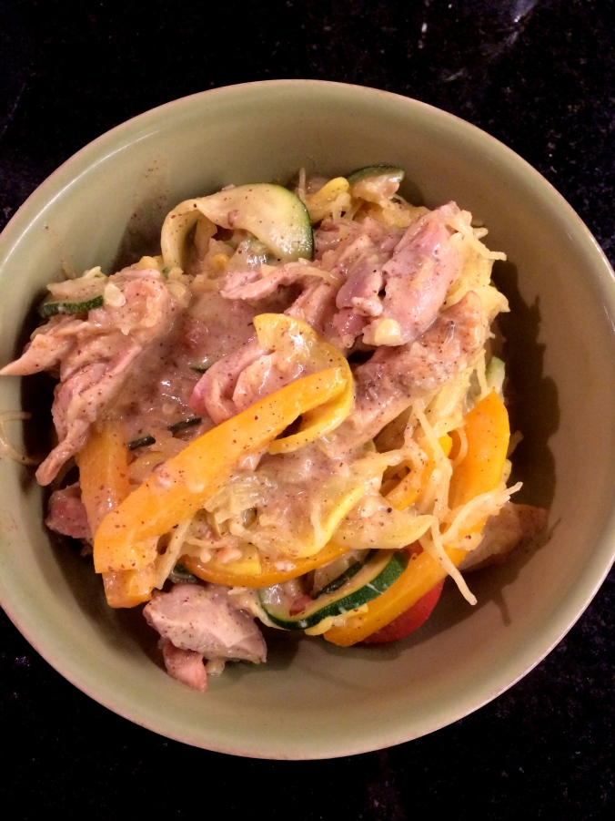 fuel sweat grow: thai chicken stir fry