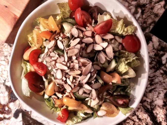 fuel sweat grow: fall salad