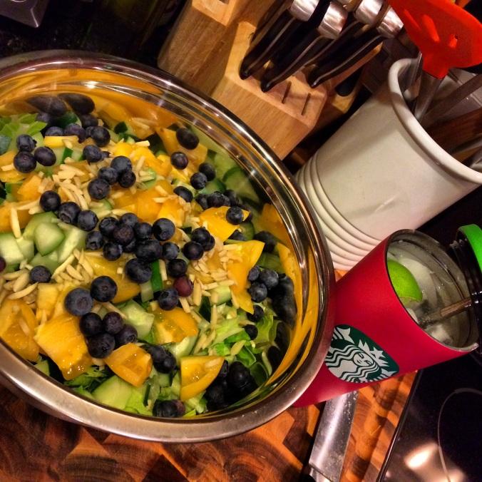 fuel sweat grow: late fall salad