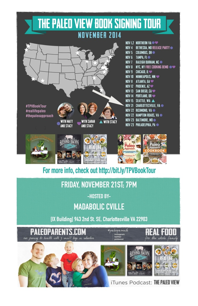 fuel sweat grow: Paleo Parents Book Tour