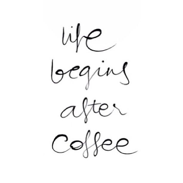 fuel sweat grow: coffee is life