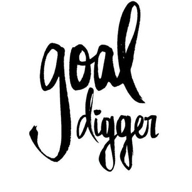 fuel sweat grow: Goal digging / goal setting