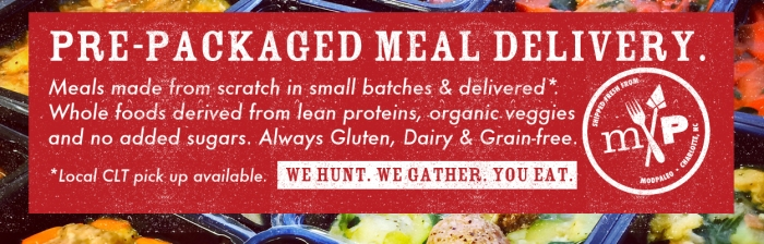 fuel sweat grow: MODpaleo Pre-packaged meal delivery