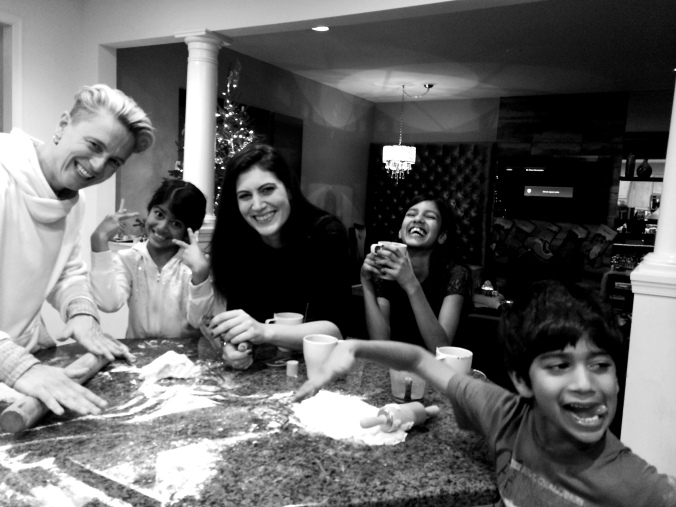 fuel sweat grow: cookie swap / #myblendedfamily