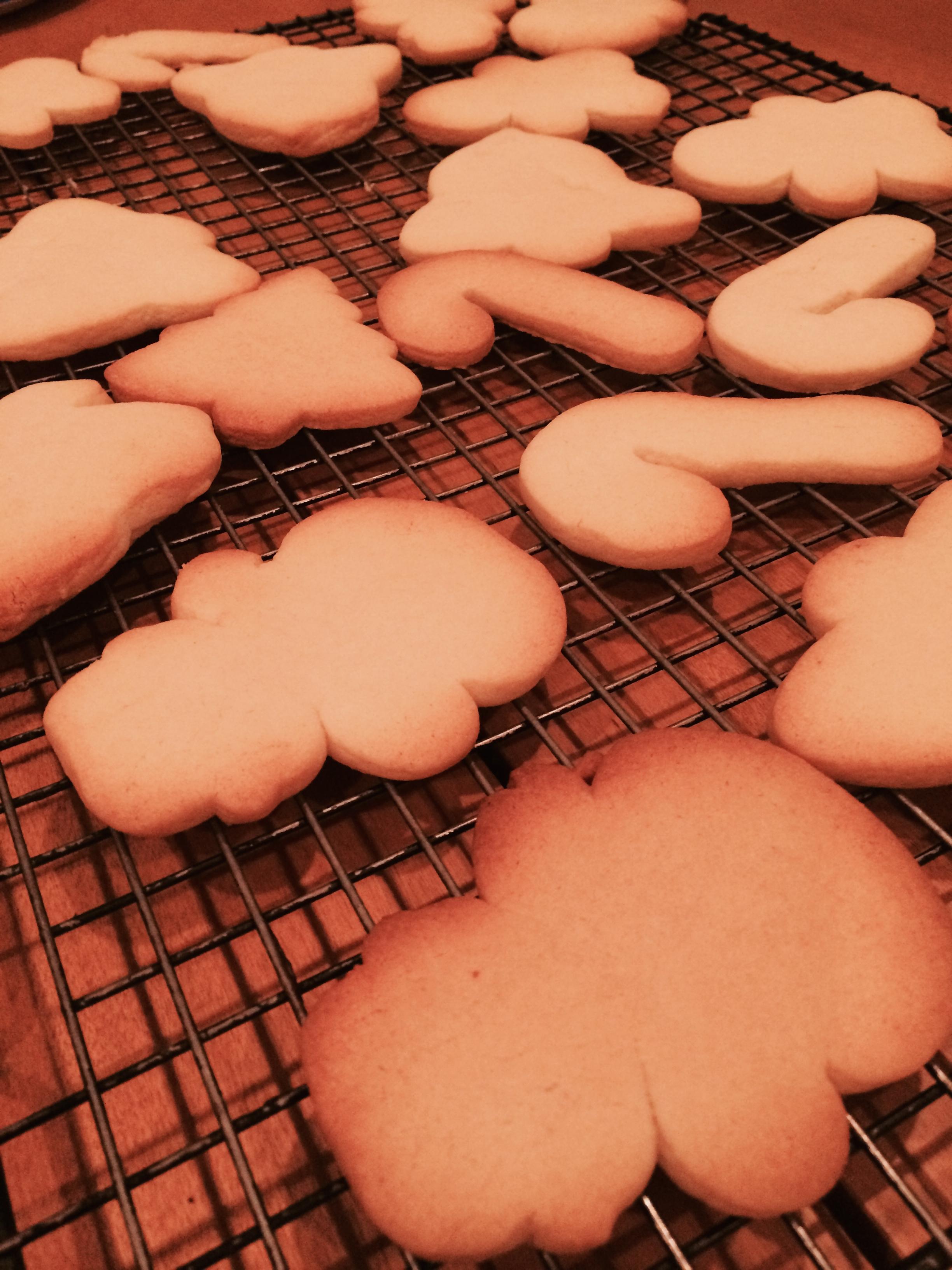 fuel sweat grow: sugar cookies / cookie swap